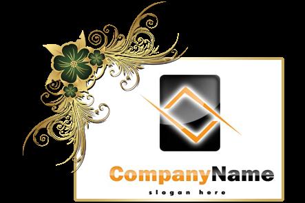 تنزيل تصميم شعار شركة إنتاج فني جاهز للتعديل بالفوتوشوب ,psd Production company logo download