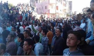 تجمهر المئات من المتشددين لمنع تجديد كنيسة في سمالوط