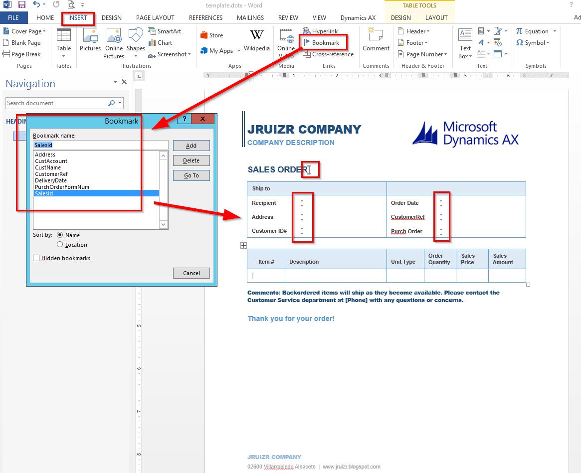 j.ruiz: Crear documentos de MS Word desde AX 2012 R3