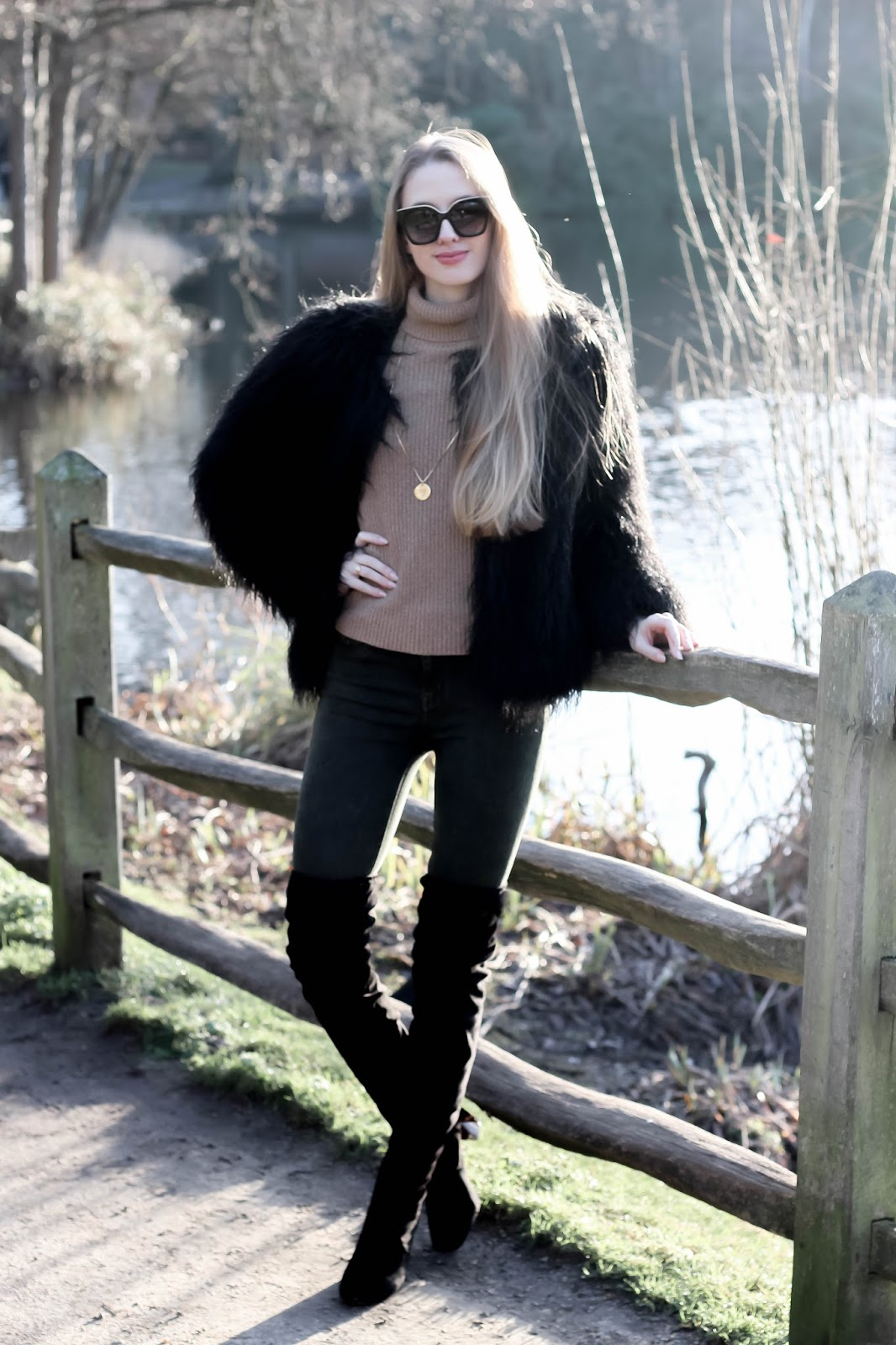 Fashion Blogger Guide to Wearing Neutrals in Winter