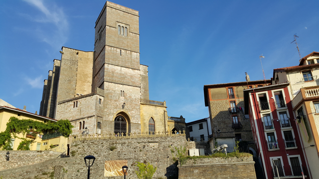 Zumaia, l'església
