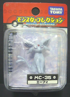 Espeon Pokemon figure Takara Tomy Monster Collection MC series