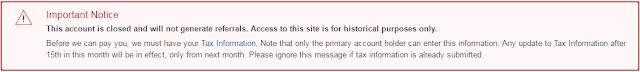 Amazon Associates Error