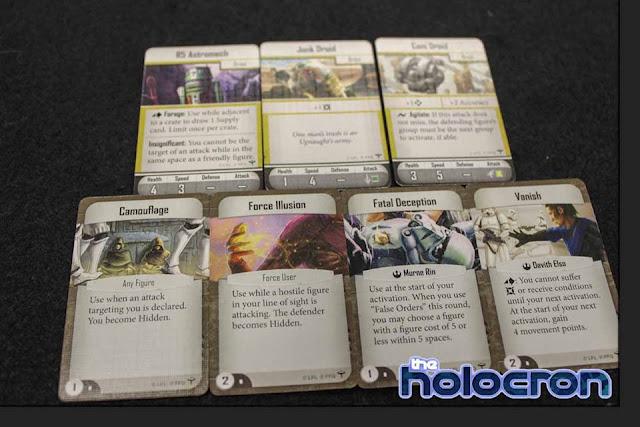 Imperial Assault Se filtran todas las cartas de Bespin