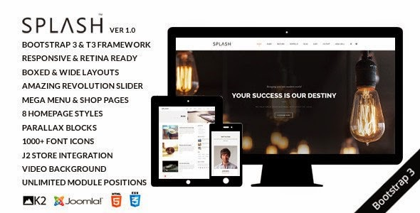 Splash Joomla Template