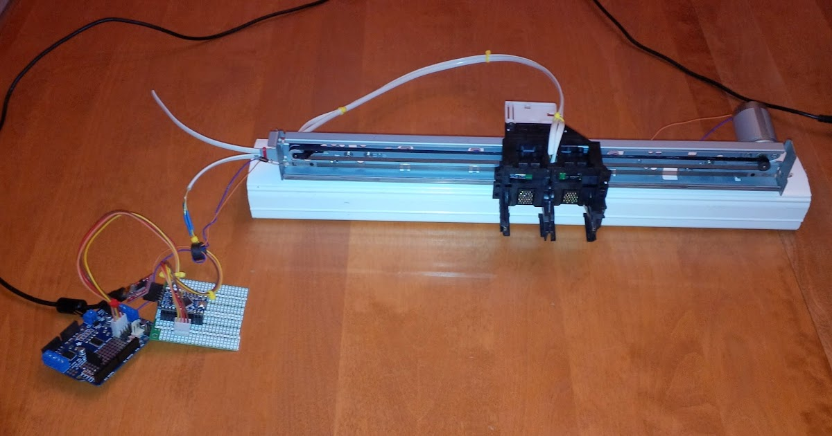 Arduino Sketch To Manage High Resolution High Speed Linear Encoders