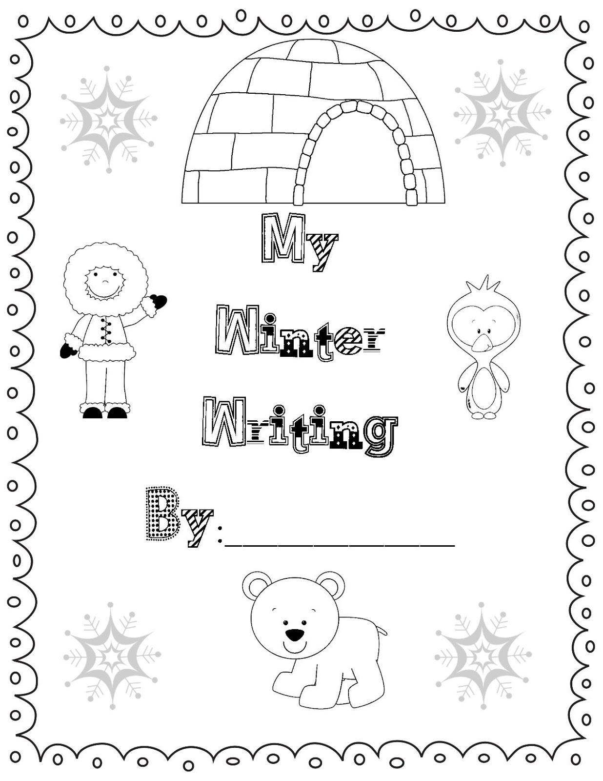 Tales-of-a-First-Grade-Teacher: Snowman Glyph Freebie
