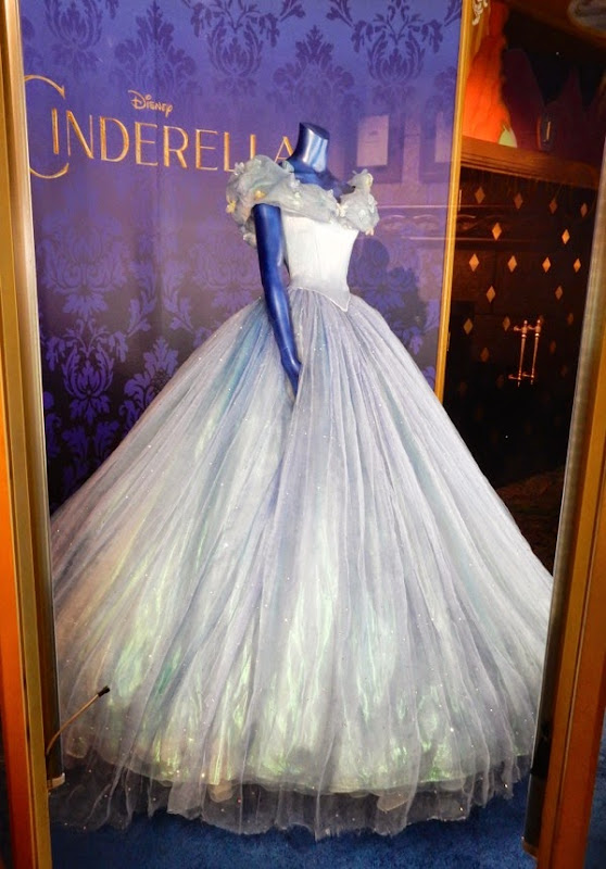 Lily James Cinderella film ball gown
