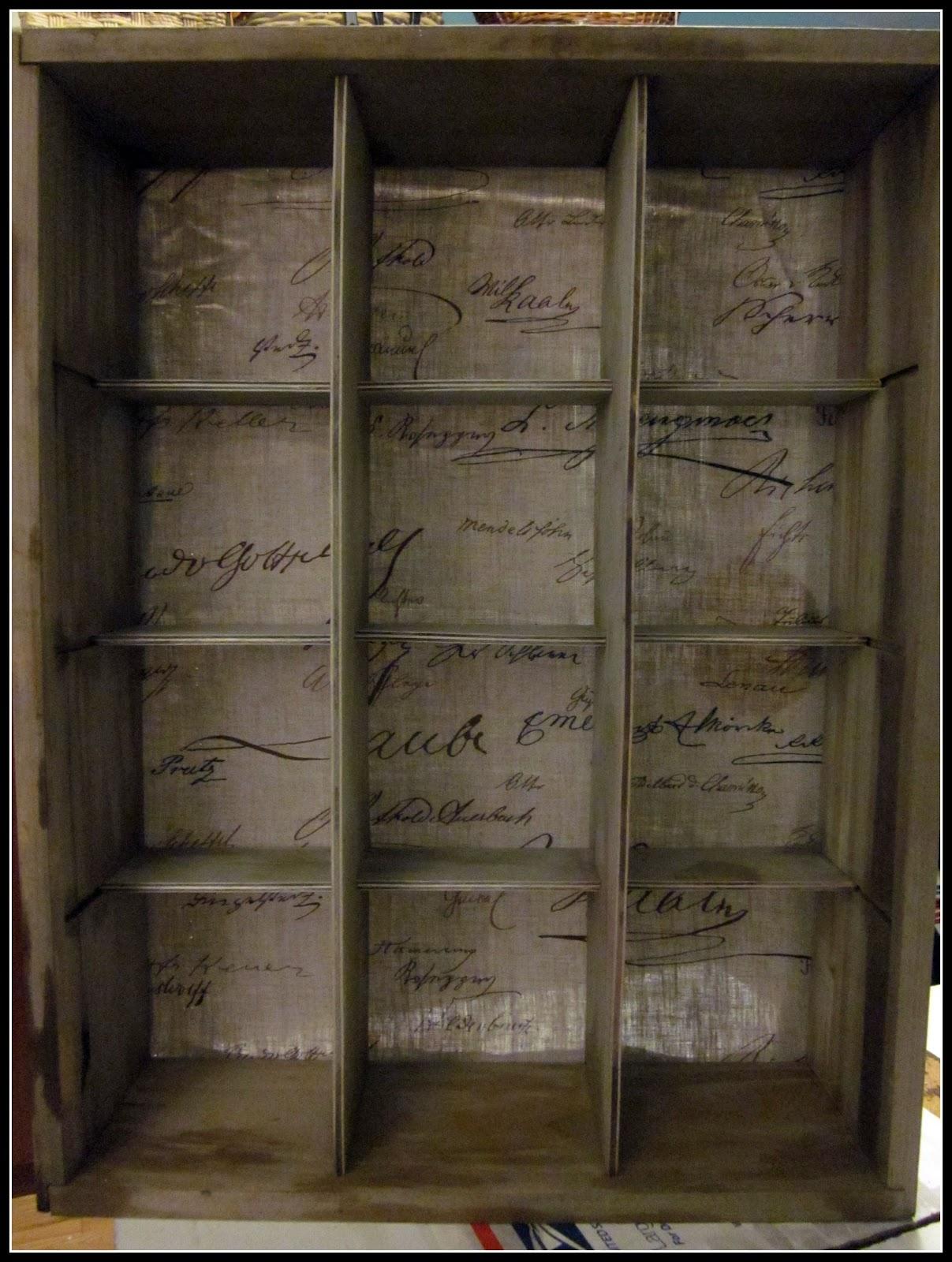 Beau Wall Cubbie Cabinet