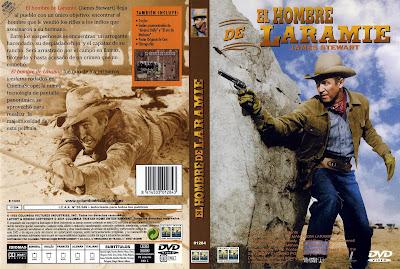 Cover, Carátula, Dvd: El hombre de Laramie | 1955 | The Man from Laramie