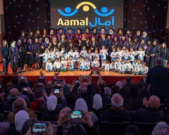 السيدة أسماءالأسد تلتقي مع أطفال آمال بمناسبة اليوم العالمي لذوي الاحتياجات الخاصة