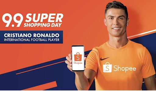 Shopee gets International Football Superstar Cristiano Ronaldo as brand ambassador