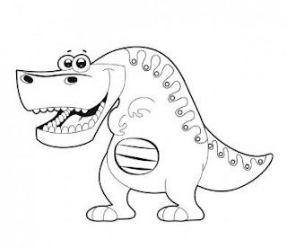 Giganotosaurus Carolinii Dinosaur Coloring Pages Animals