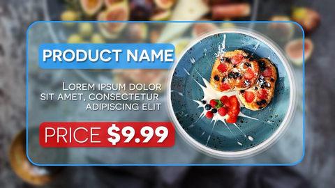 قالب افتر افكت مجاني - مشروع عرض أسعار المنتجات بسرعة - CS5.5 فأعلى