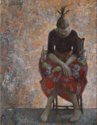 Anton Yakutovych 1957 | Ukrainian Fantastic Realism painter