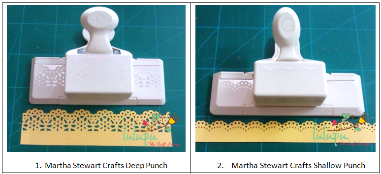 Lulupu The Craft Lounge How To Use Martha Stewart Punches