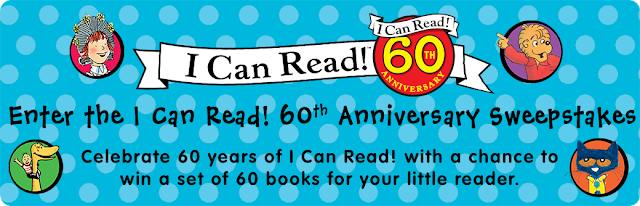 I CAN READ 60TH ANNIVERSARY SWEEPSTAKES