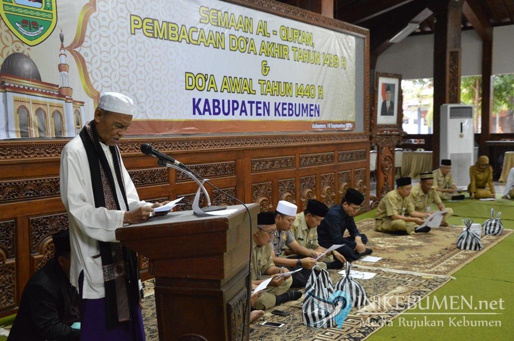 Sambut Tahun Baru Islam, Pemkab Kebumen Gelar Doa Akhir dan Awal Tahun