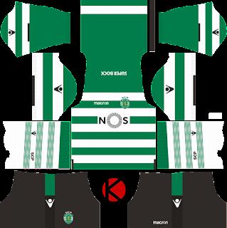 Sporting CP Kits 2017/18 - Dream League Soccer
