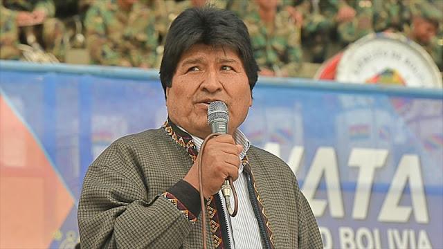 """Morales denuncia que Pence """"instiga un golpe"""" contra Maduro"""