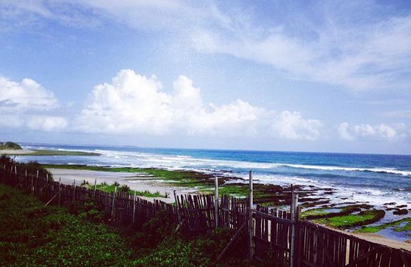 Tempat wisata di garut Pantai dan Taman Laut Manalusu