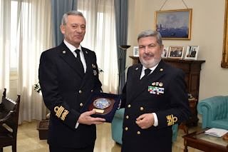 Visita istituzionale a Napoli dell'Ammiraglio Giovanni Pettorino