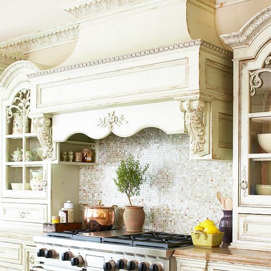 New Home Interior Design: Kitchen Backsplash Ideas: Tile