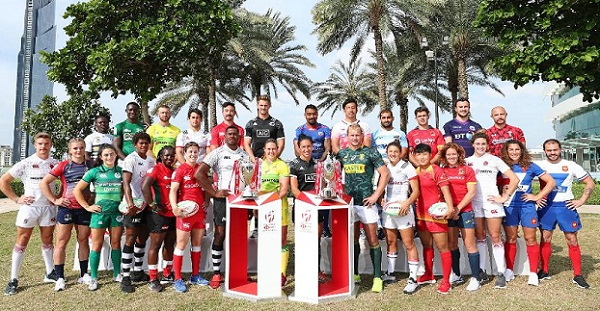Men's, women's World Rugby Sevens Series new events for 2019-23, all host locations.