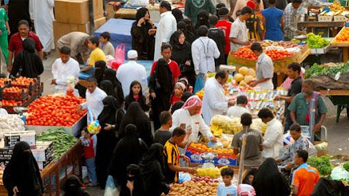 Pasar Al-Balad di Kota Tua Jeddah