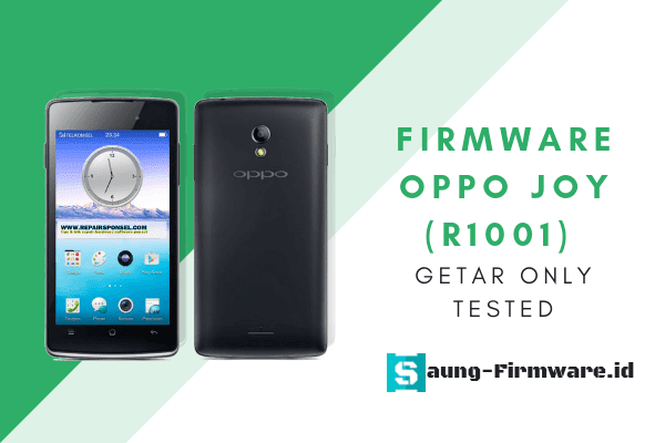 Firmware Oppo Joy (R1001) Getar Only Tested