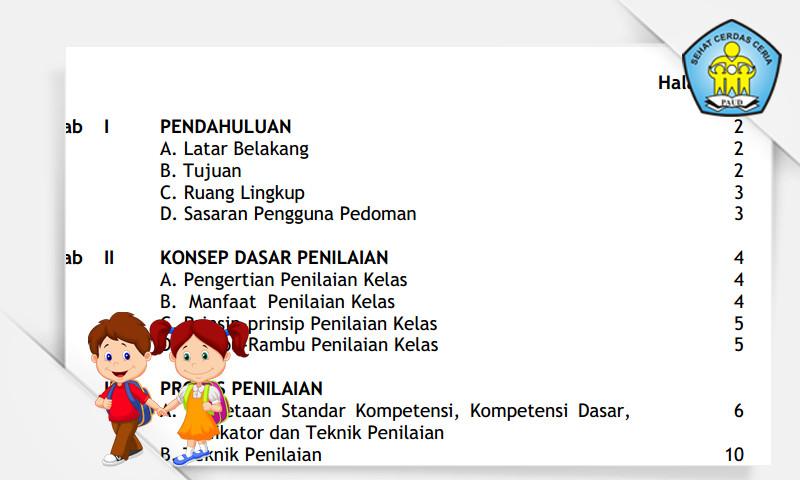 Download Gratis Contoh Silabus, RPP, Penilaian dan Standar Isi PAUD