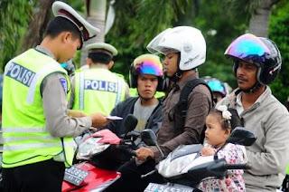 Razia Kendaraan Polisi