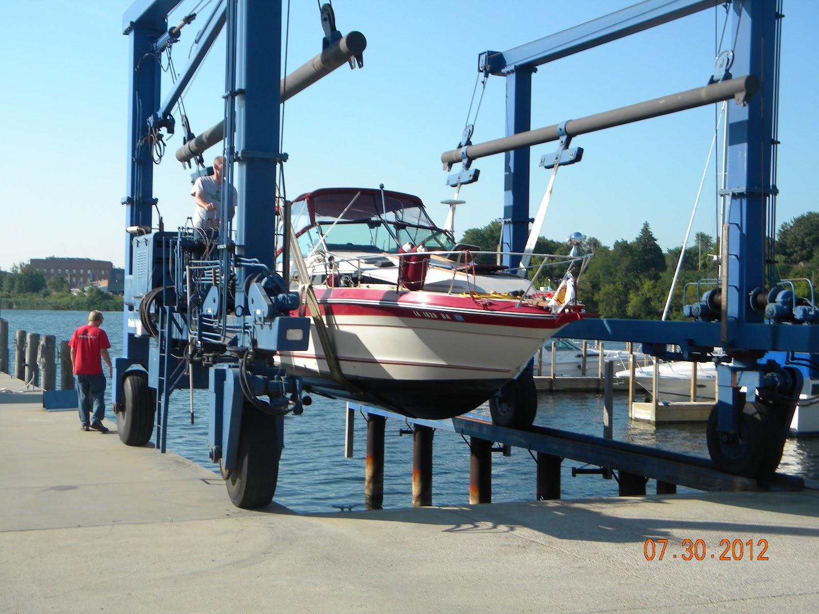 Miss TeRae: Boat Repair Week - spent in South Haven