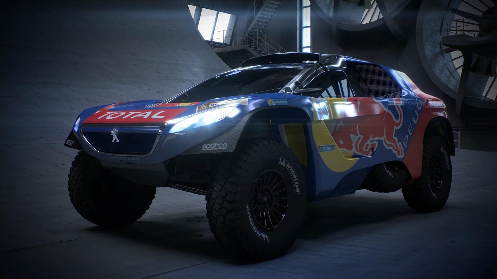 P 20151202 00384 News Το PEUGEOT 2008DKR στα χρώματα του πολέμου! Peugeot, Peugeot 2008 DKR, Peugeot 2008 DKR16, Rally Dakar