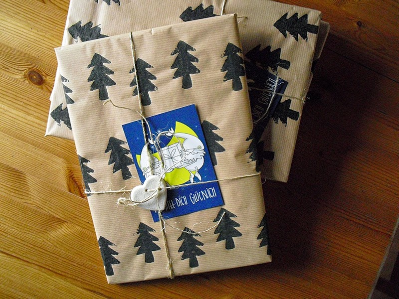 frauschoenert's hand printed gift wrapping