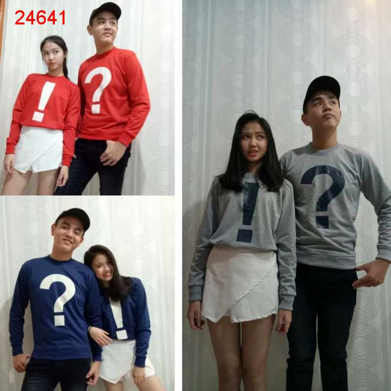 Jual Sweater Couple Sweater Who - 24641