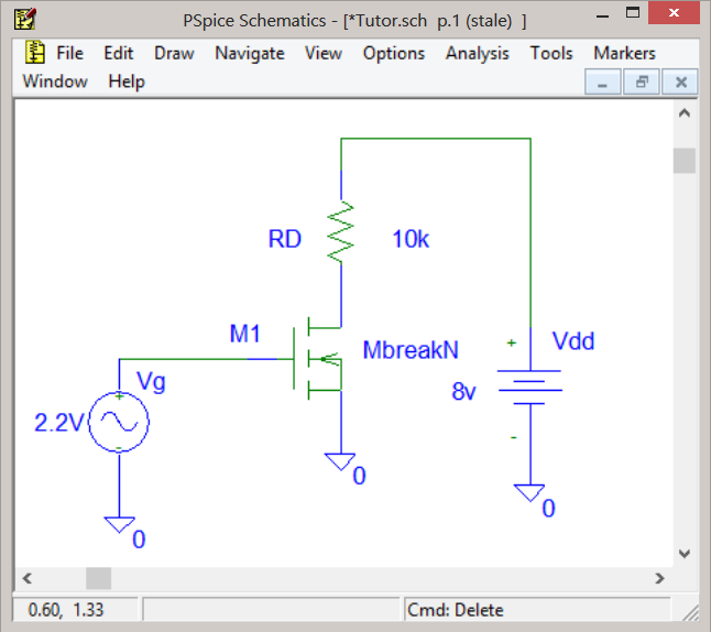 MOSFET Simulation with PSpice | Basics of MOSFET Models and