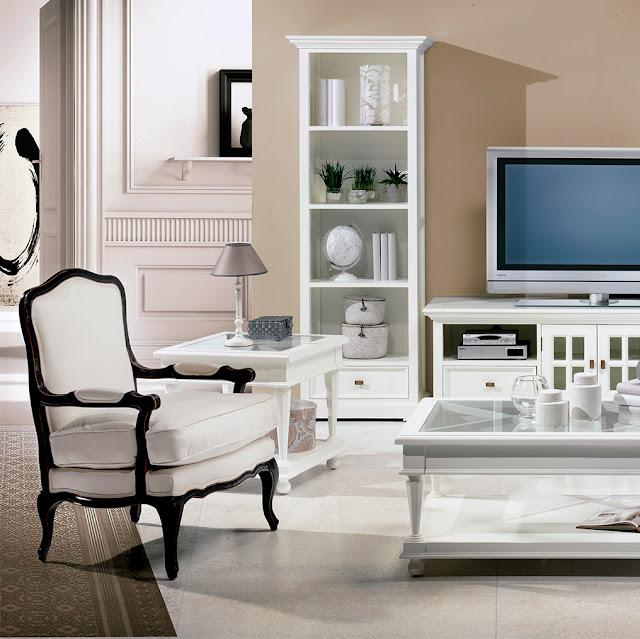 Muebles de sal n butacas con brazos de madera para el salon - Butacas para dormitorio ...