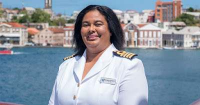 Belinda Bennett, first Black woman cruise ship captain