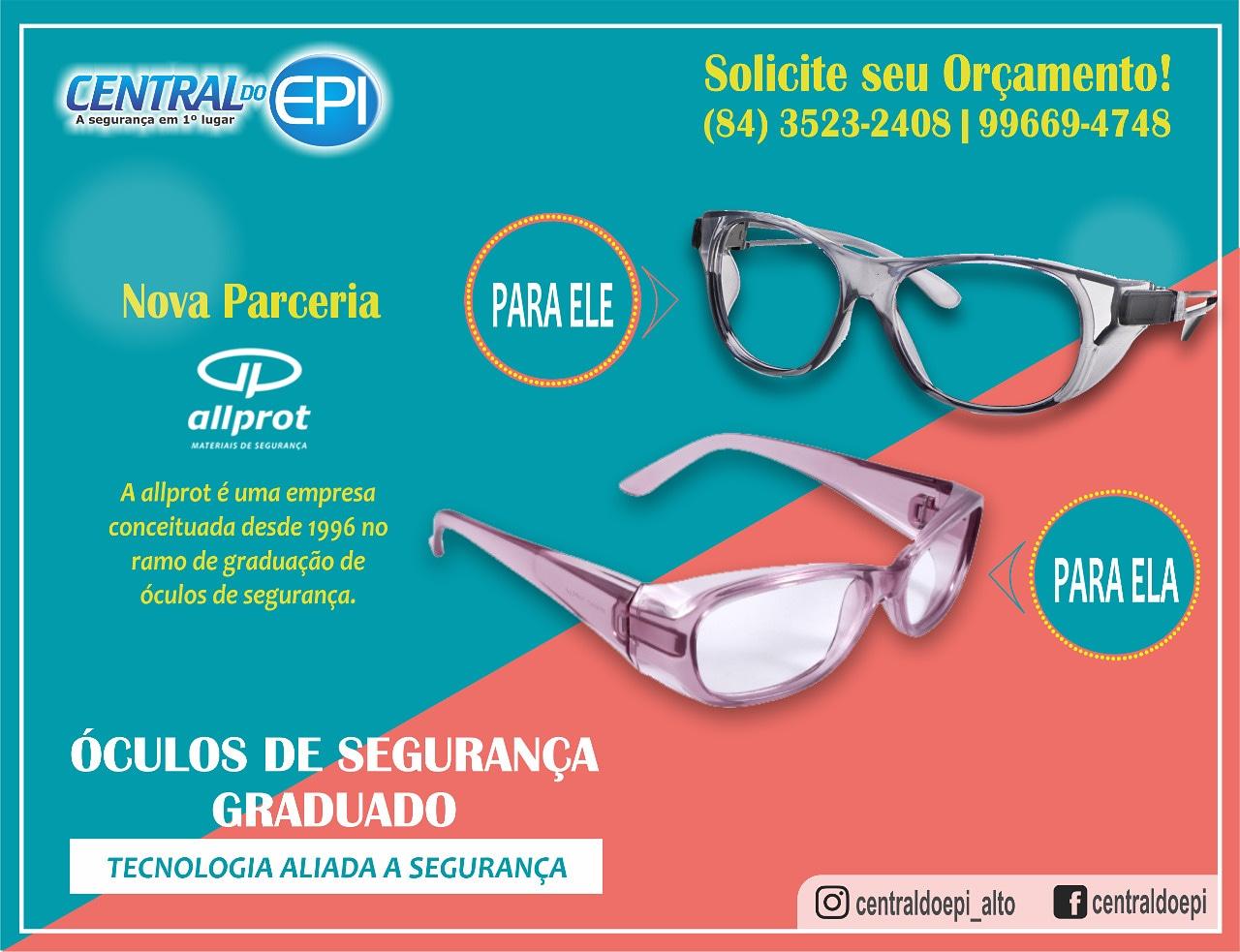 07e7c6bb1 Continua a grande promoção de óculos na Central do EPI