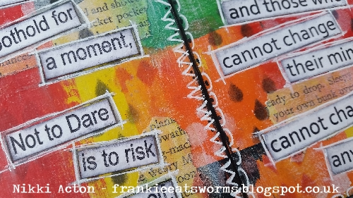 #NikkiActon Art Journal #ThatsCrafty