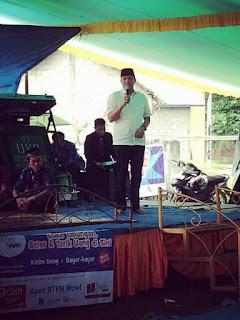 AW Noviadi Hadiri Undangan Warga Desa Bakung