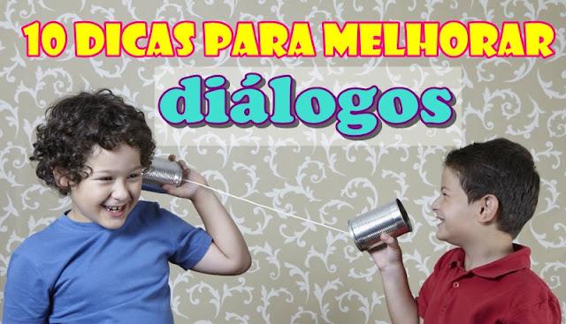 telefone de lata como escrever dialogos