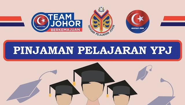 Permohonan Pinjaman Pelajaran Johor (YPJ) 2018 Online