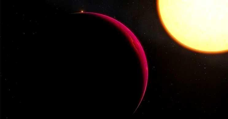 GJ 1132b kendi güneşine oldukça yakındır, yüzeyi yoğun bulutlarla kaplıdır.