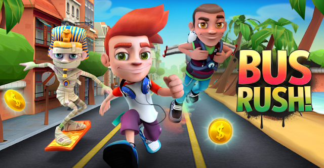 Download Bus Rush v1.0.18 Mod Apk Terbaru Gratis (Unlimited Coins)
