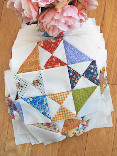 Snippets quilt blocks: QuiltBee