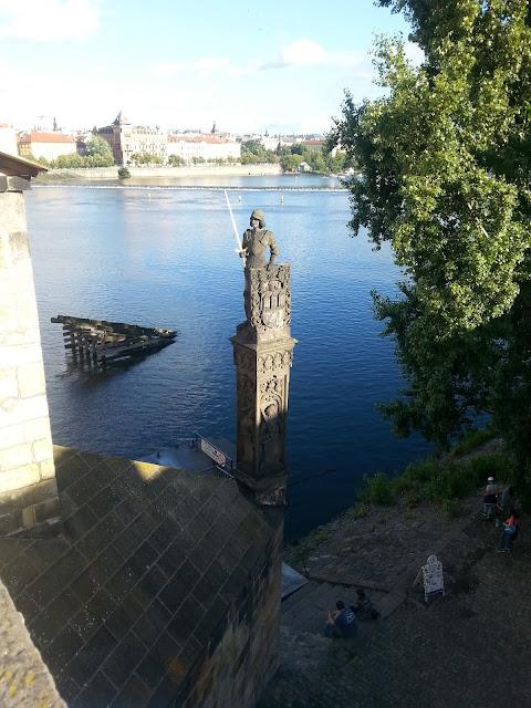 most karola, wołtawa, czechy, praga, podróże