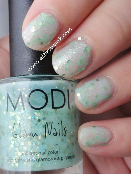 Modi Glam Nails 24 - Apple Candy