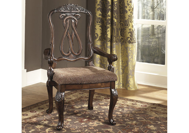 Dining room end chair